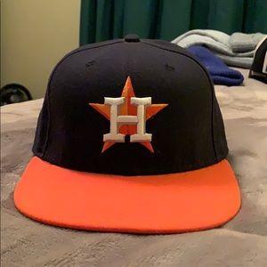Houston Astros new era fitted baseball cap